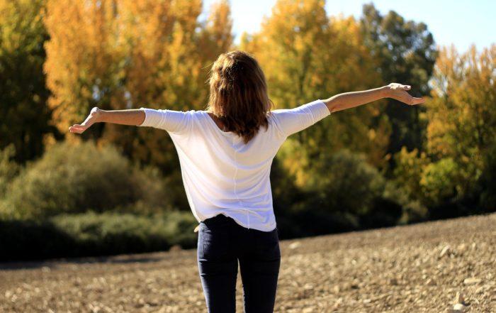 Respirer nature joie