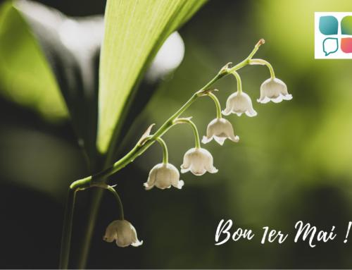 Bon 1er mai ! Newsletter du mois …